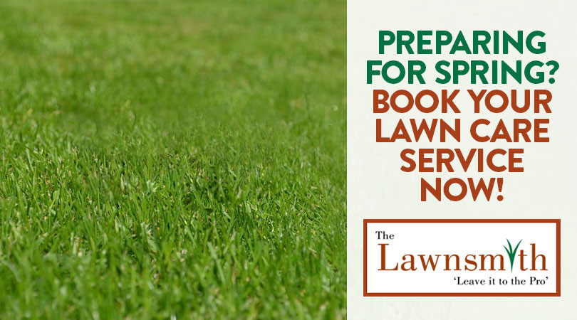 Preparing For Spring Book Your Lawn Care Service Now